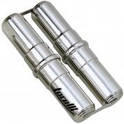 Ganzá Alumínio Duplo 33 x 33 cm Torelli TG 561