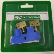 Kit com 4 Conectores 20 amperes  fita elétrica CT3S