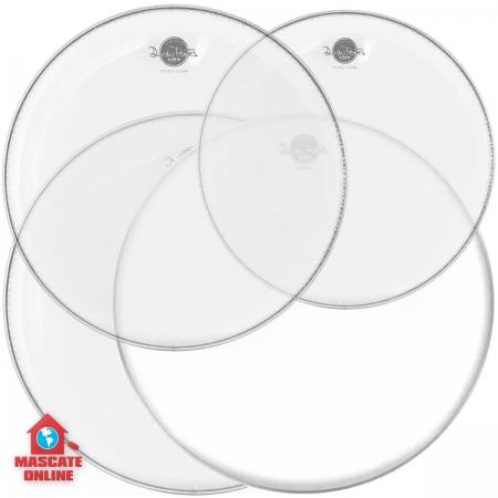 Kit Peles Dudu Portes Double Clear Fusion 10
