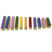 Metalofone Infantil 11 teclas individuais Jog Vibratom P2135