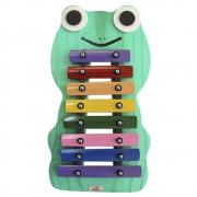 Metalofone Infantil Sapo 8 teclas Jog Vibratom P2235