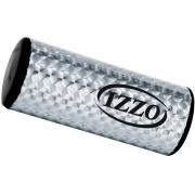 Mini Ganzá 9 x 3,9cm tubo holográfico alumínio Izzo 624