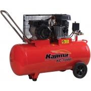 Motocompressor de ar 2,5 HP 100 Litros 110V Kajima AC 1000