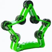 Pandeirola Meia Lua - Estrela Verde - Turbo