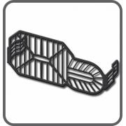 Protetor farol (aço) BMW F800R 2015-, F800GS e Adventure