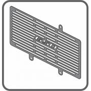 Protetor Radiador Kawasaki ER-6N 650cc até2012 Scam SPTO 286