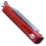 Reco Reco 3 molas Alumínio Vermelho c/ Glitter Contemporânea