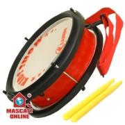 Tarol Infantil Vermelho PVC 8