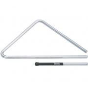 Triângulo Alumínio Grande 40cm Liga Especial Torelli TL 608