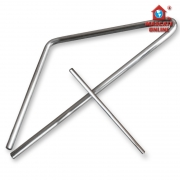 Triângulo Forrozão Grande 40cm Alumínio Luen 19046