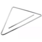 Triângulo Grande 38cm x 8mm Aço Luen 19016