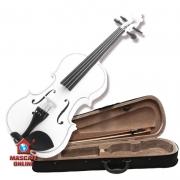 Violino Infantil 1/4 Branco Acoustic