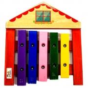 Xilofone Infantil Casa 5 teclas Jog Vibratom P2114