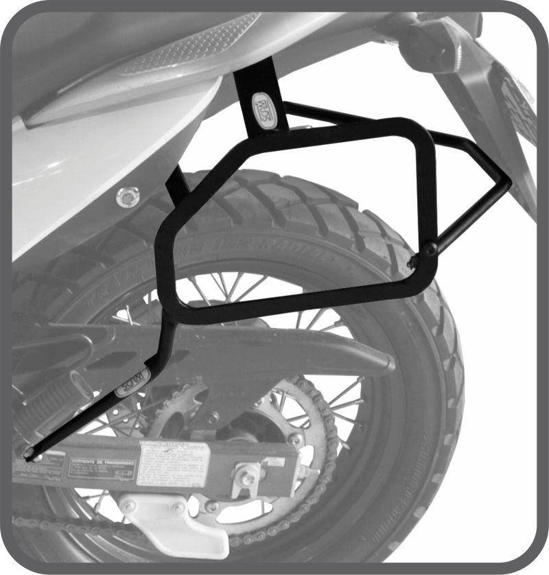 Afastador Alforge Honda Transalp 700cc 2011 a 2014 Scam