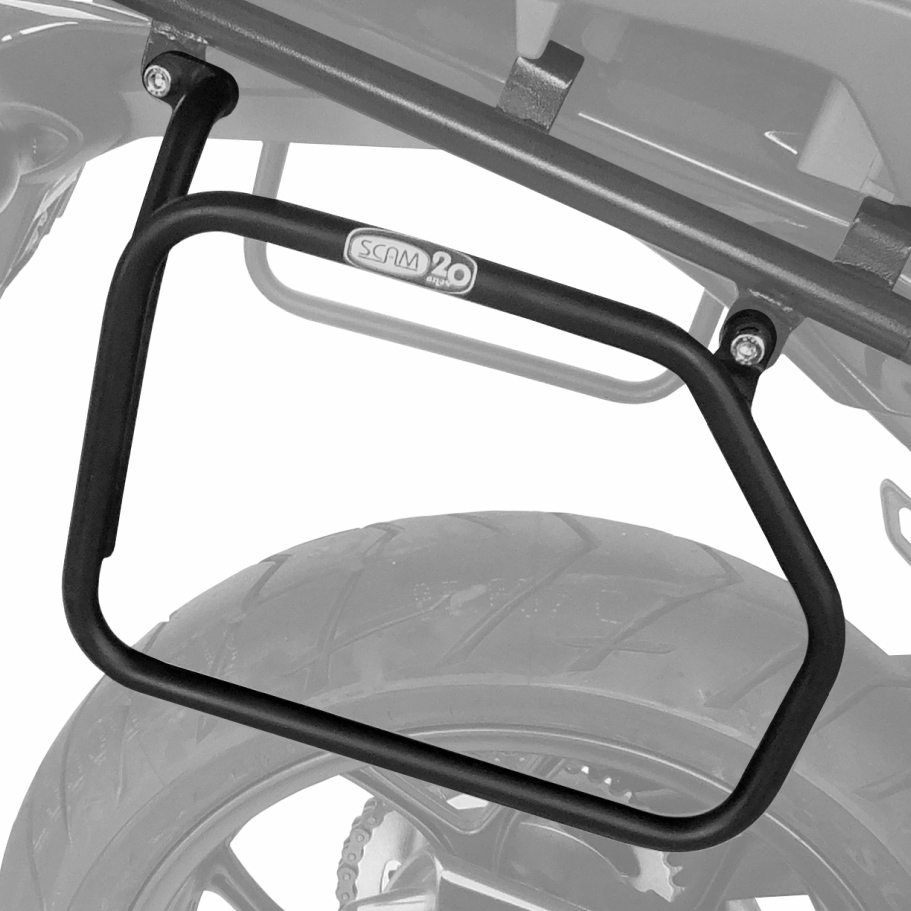 Afastador alforges Honda NC700X/750X até 2015 tubular Scam