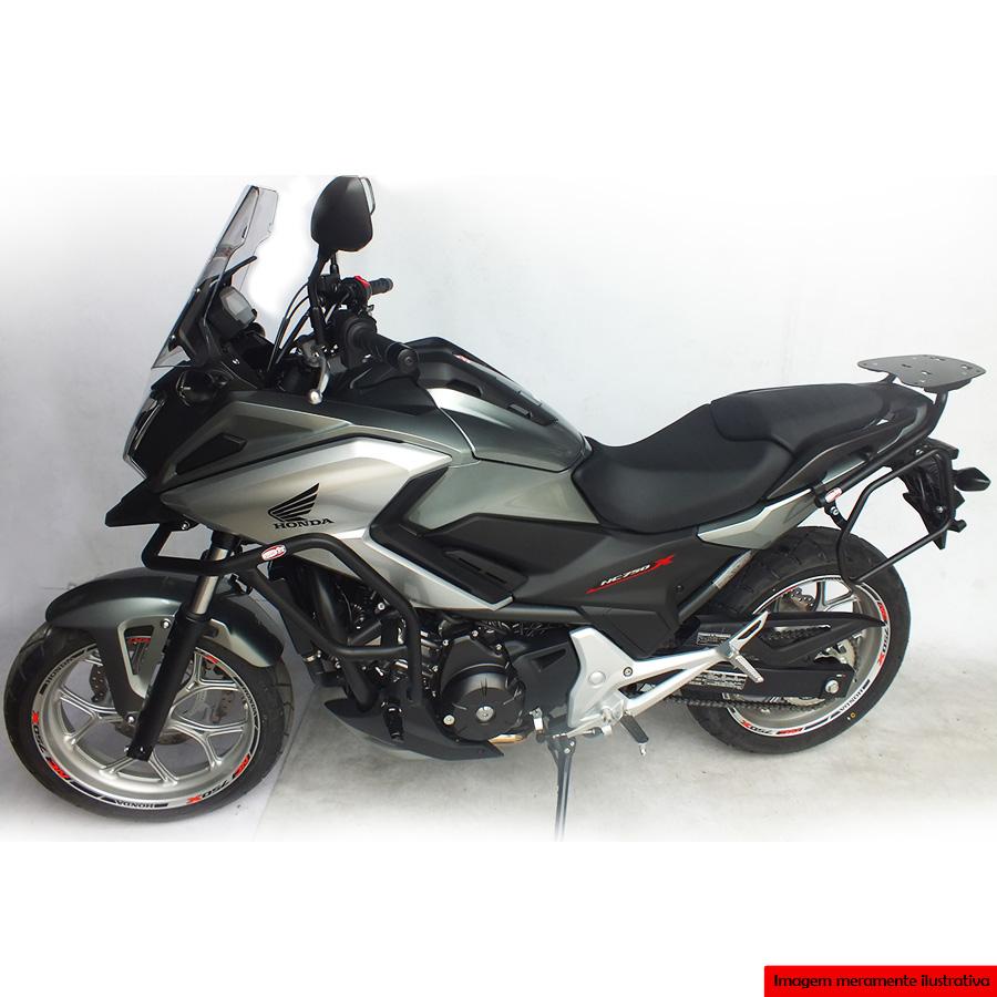 Afastador Alforges Honda NC700X NC750X 2016+ Scam