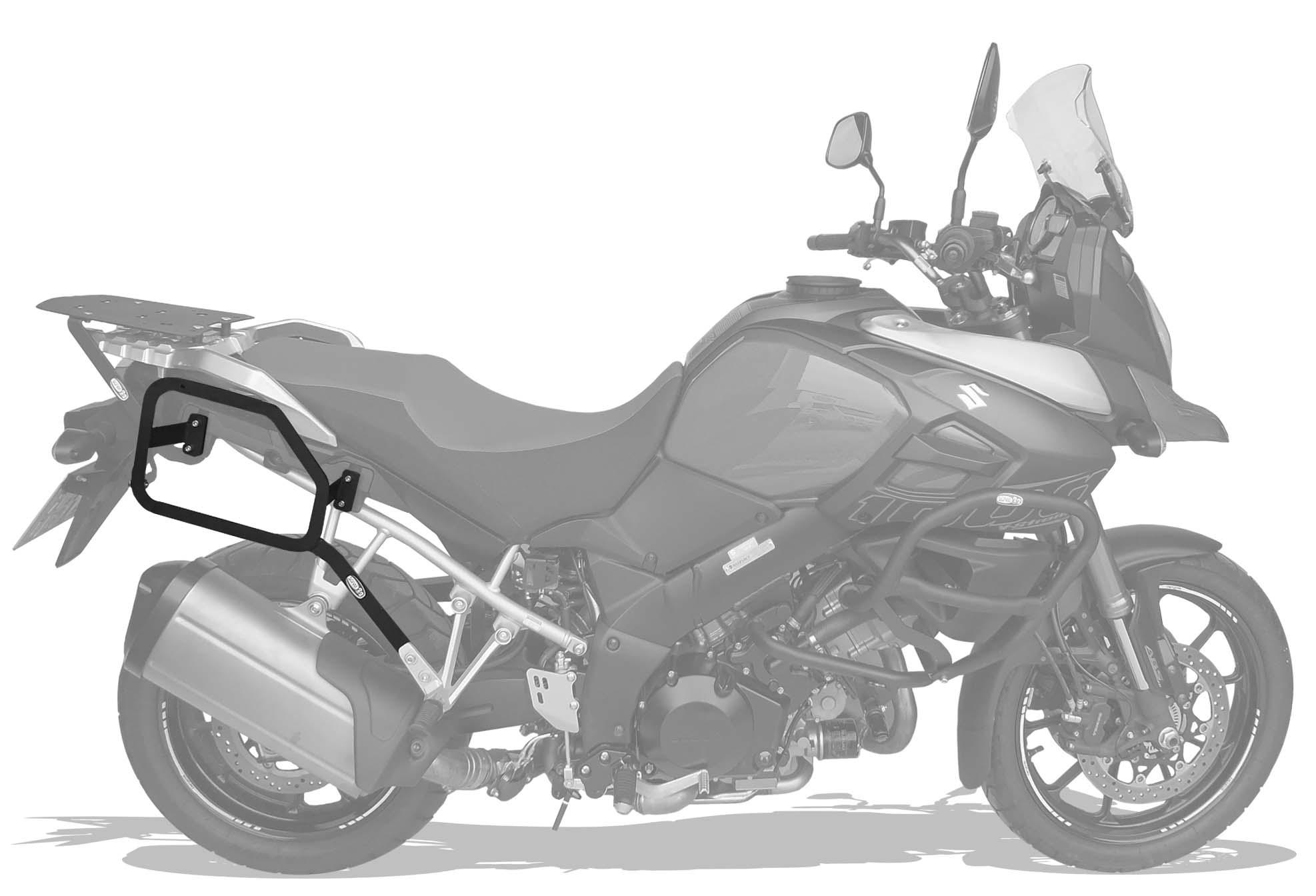 Afastador alforges Suzuki DL Vstrom 1000cc 2014+