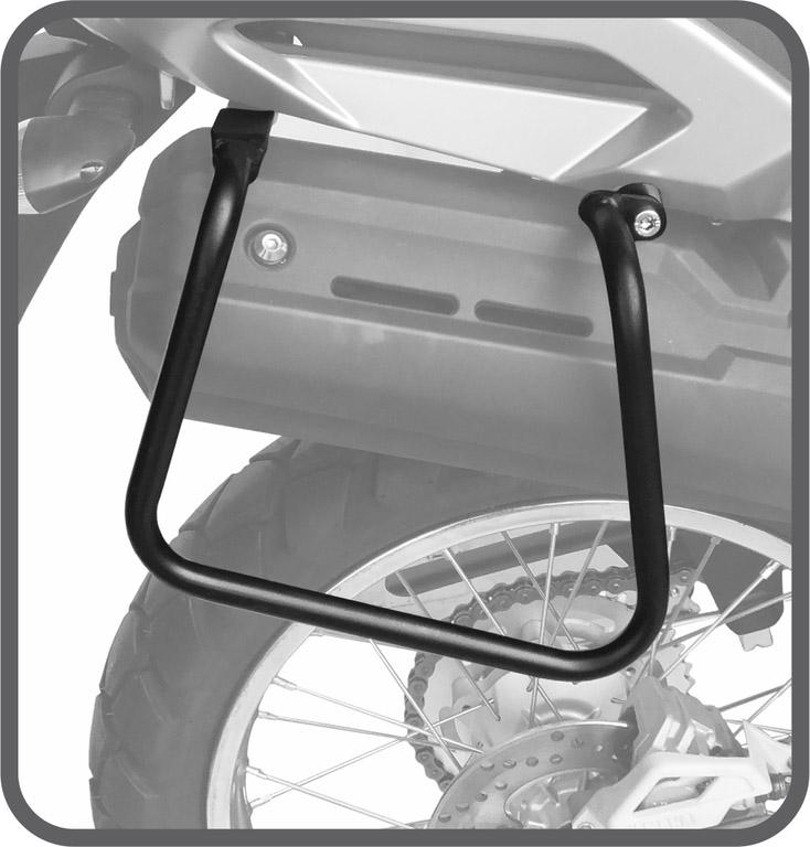 Afastador Alforges Ténéré 250cc 2016+ tubular Scam