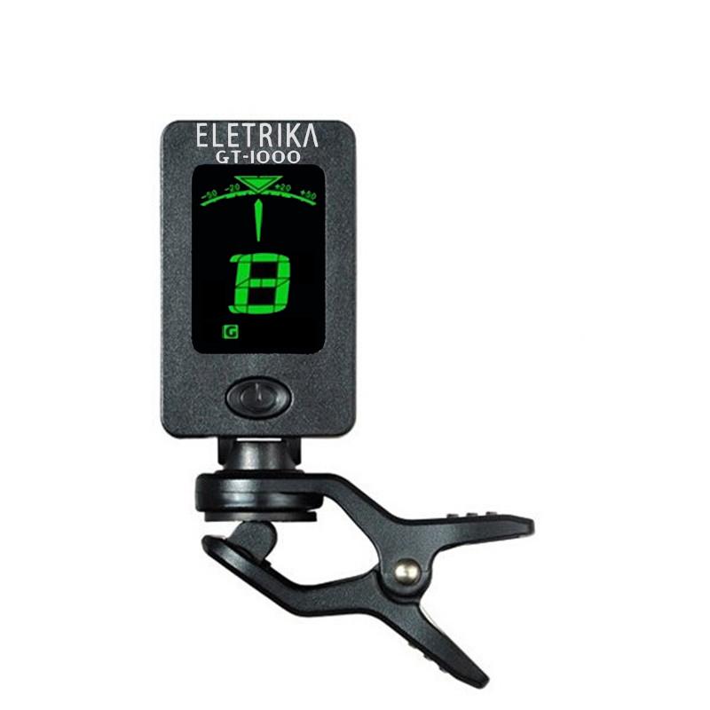 Afinador Multi-instrumentos Eletrika GT 1000
