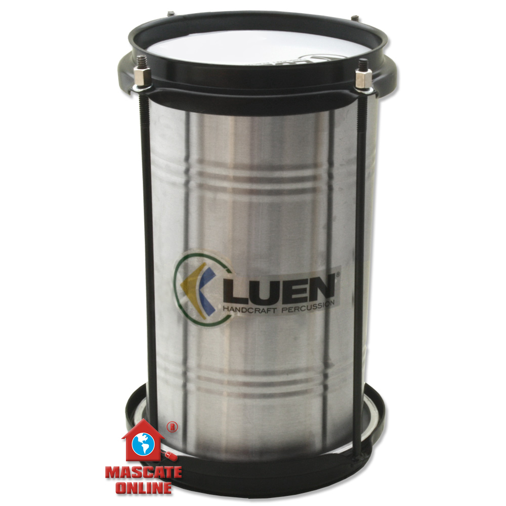 "Bacurinha 6"" 30cm Aluminio - aro chapa preto - Luen 27049"