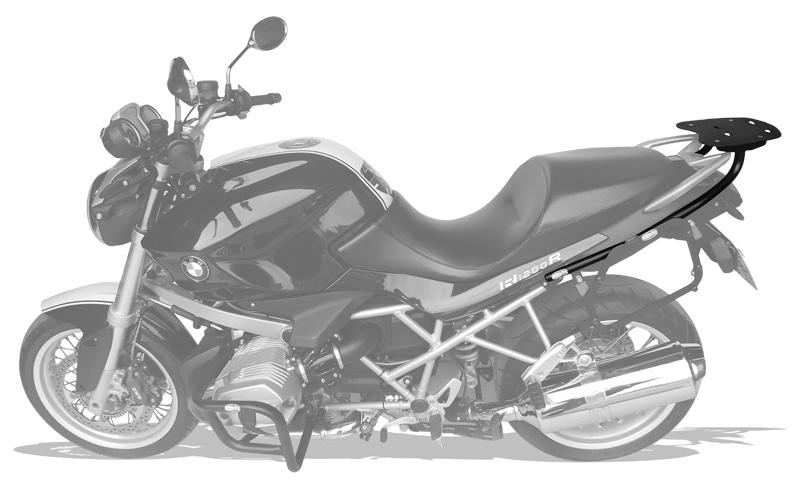 Bagageiro Bmw R1200R 2004-2012 - Scam