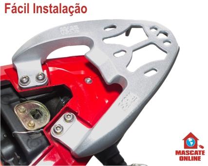 Bagageiro Dafra Next Prata