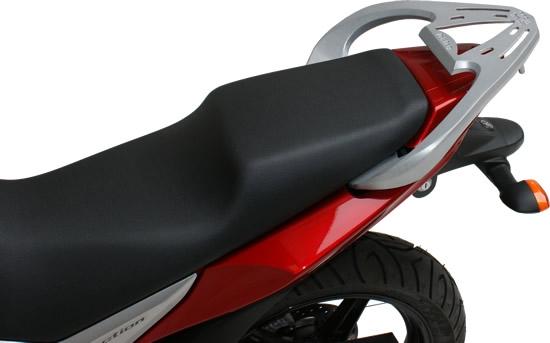 Bagageiro Fazer 250cc e Factor Prata