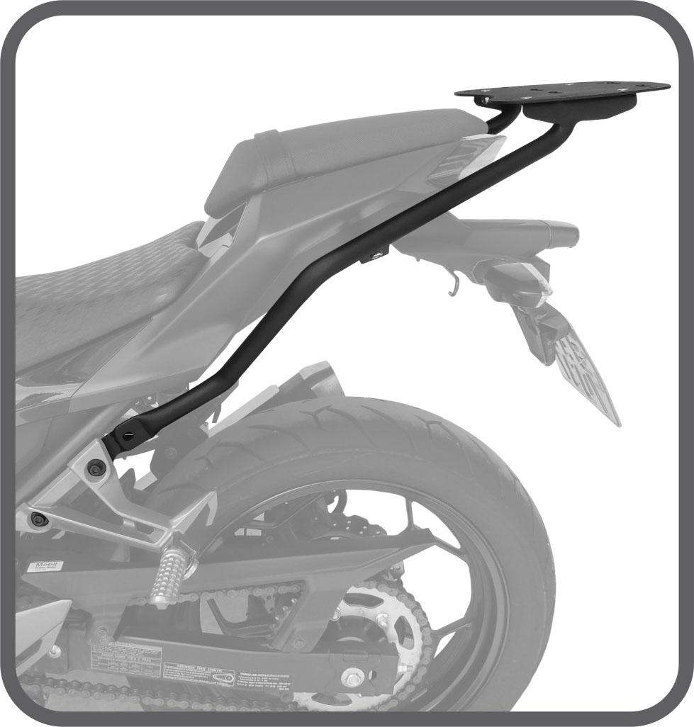 Bagageiro Kawasaki Z300 NINJA 300 2016 + Scam SPTO 260