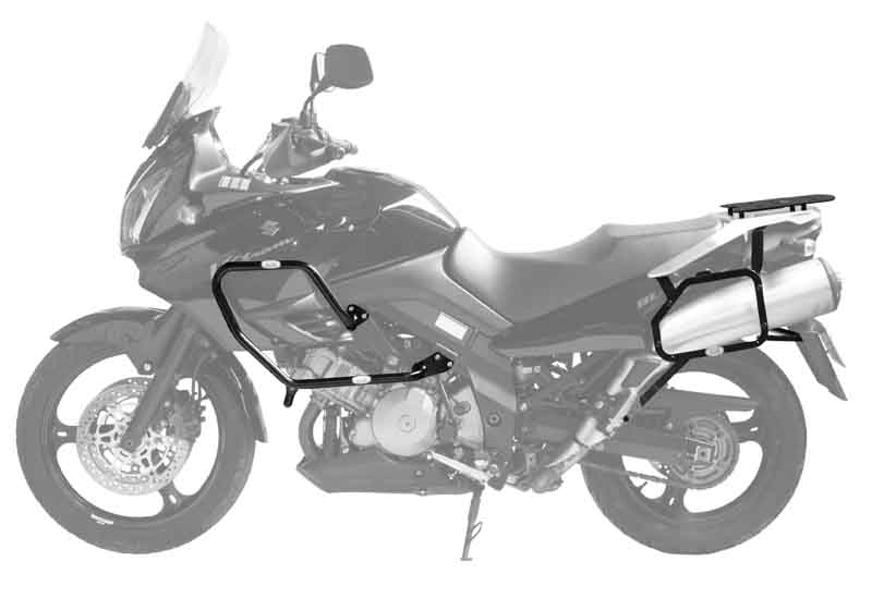 Bagageiro Suzuki DL Vstrom 1000 2002-13 Scam