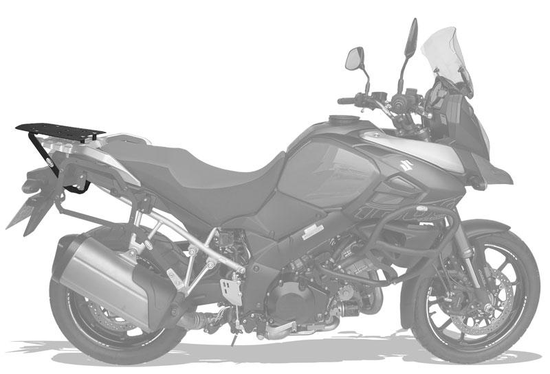 Bagageiro Suzuki DL Vstrom 1000cc 2014+ e 650 2019+