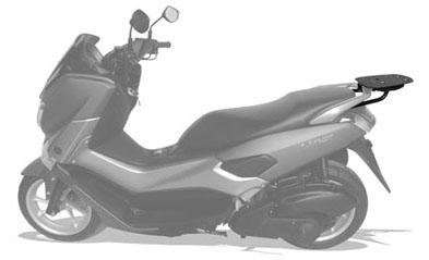 Bagageiro Yamaha NMAX 160 - Scam SPTO 196