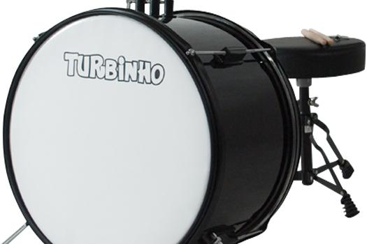 Bateria Infantil Turbinho - Turbo
