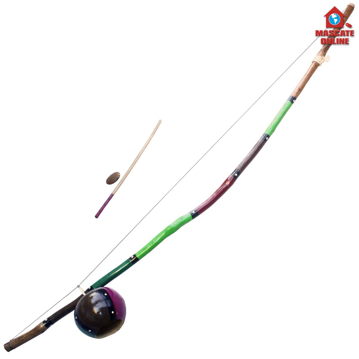 Berimbau Pequeno 1,40m Pintado MB Capoeira