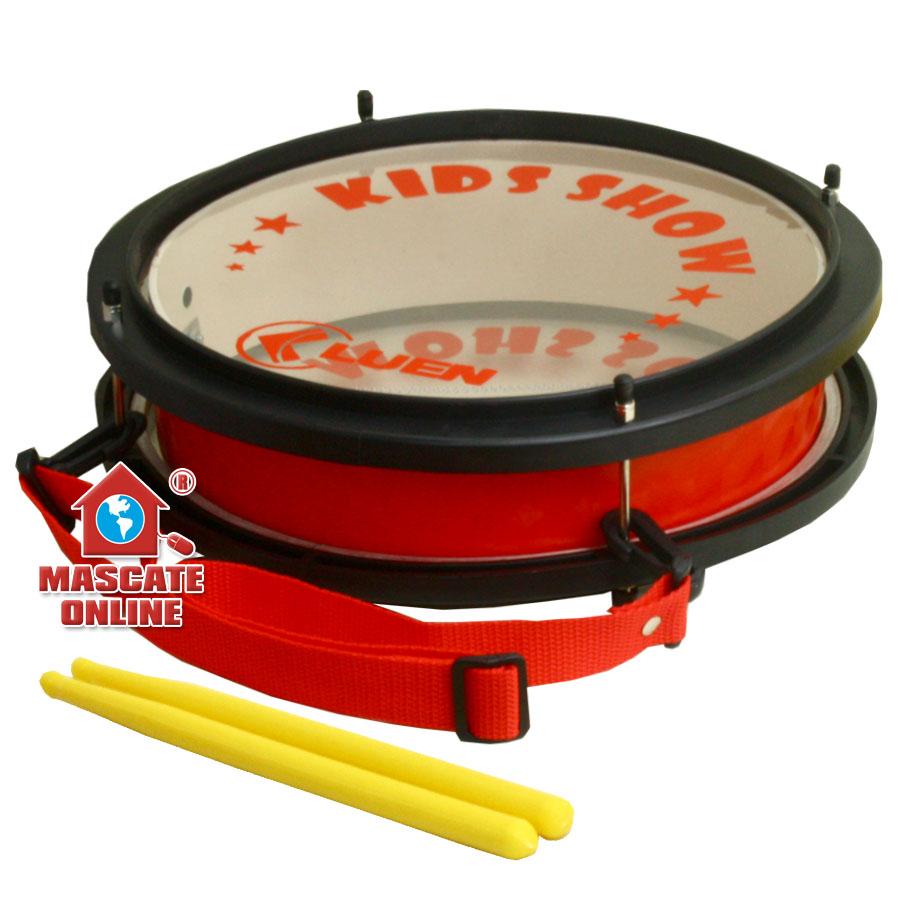 "Caixa Infantil Vermelha PVC 10"" Luen 29468VM"