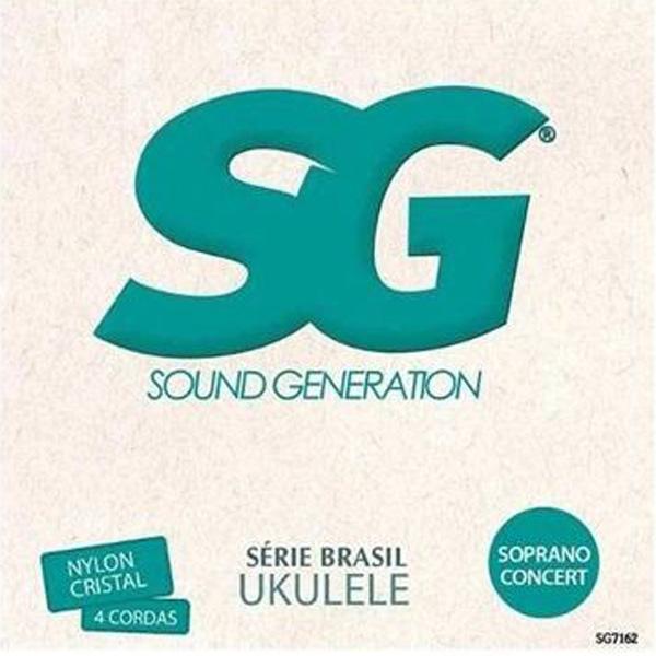 Encordoamento nylon Ukulelê Soprano e Concerto (SG 7162)