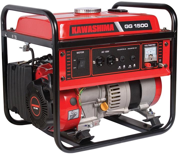 Gerador 1500W 110V Kawashima GG 1500