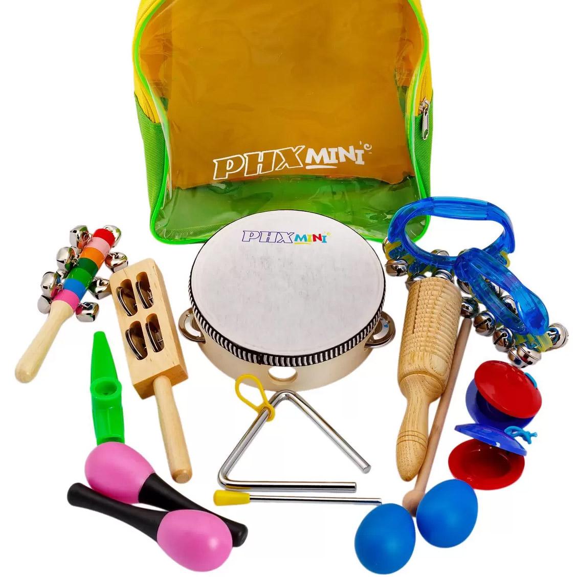 Kit Bandinha Infantil c/ mochila - PHX TZ10-1