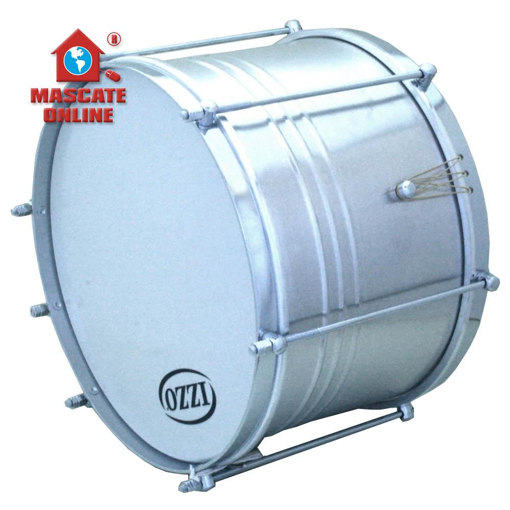 Malacacheta 12pol x 20cm Alumínio Izzo 7763 - Caixa de Guerra Pele leitosa-P0