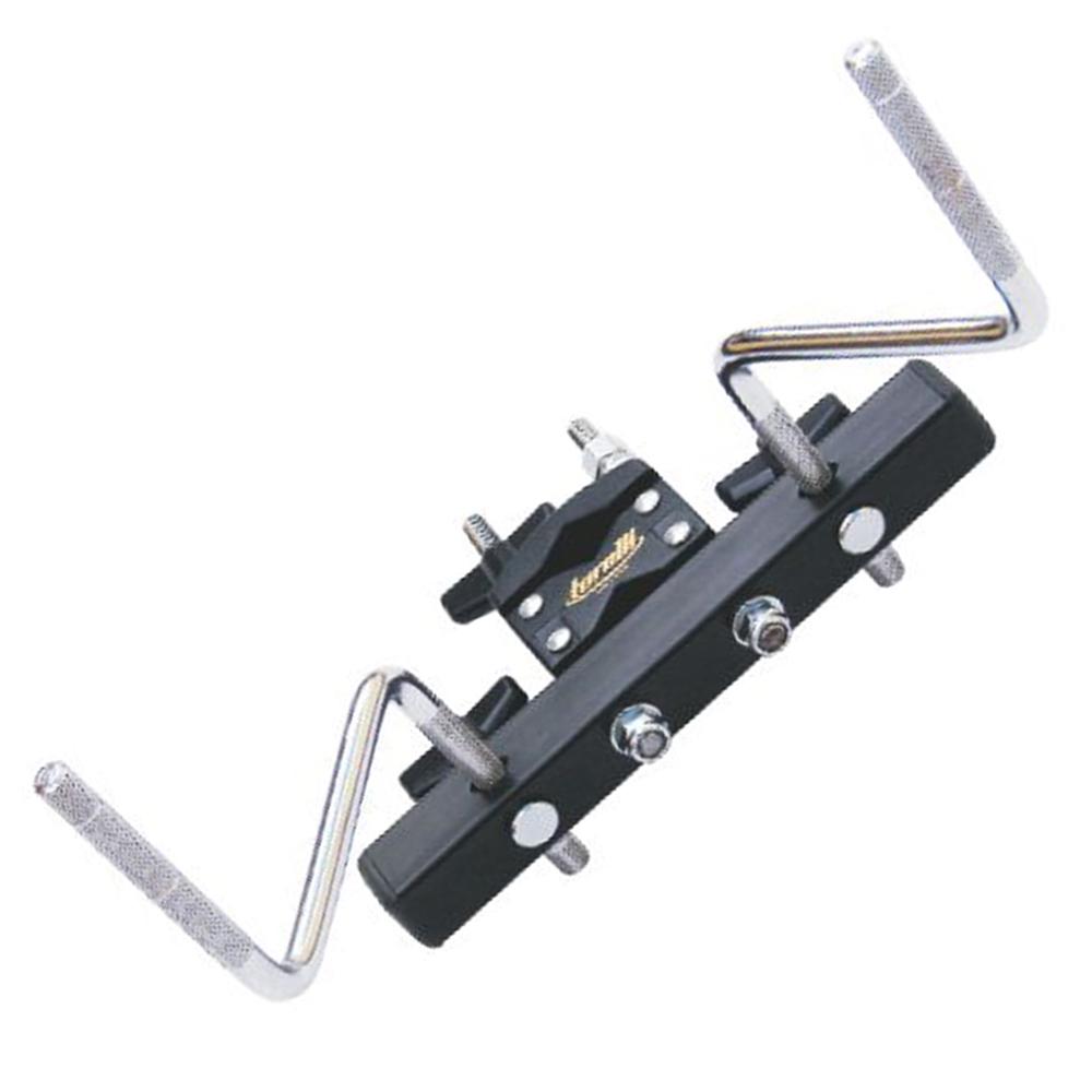 Mini Rack Percussão Preto 2 Hastes Torelli TA452
