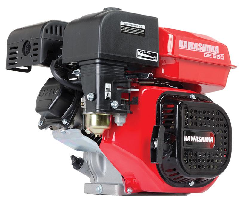 Motor Estacionário 163cc 5,5HP gasolina Kawashima GE550