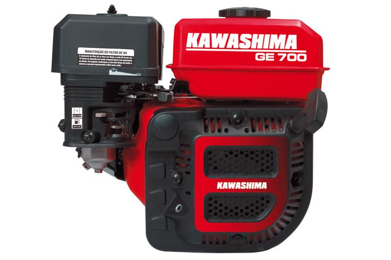 Motor Estacionário 7HP gasolina Kawashima GE700