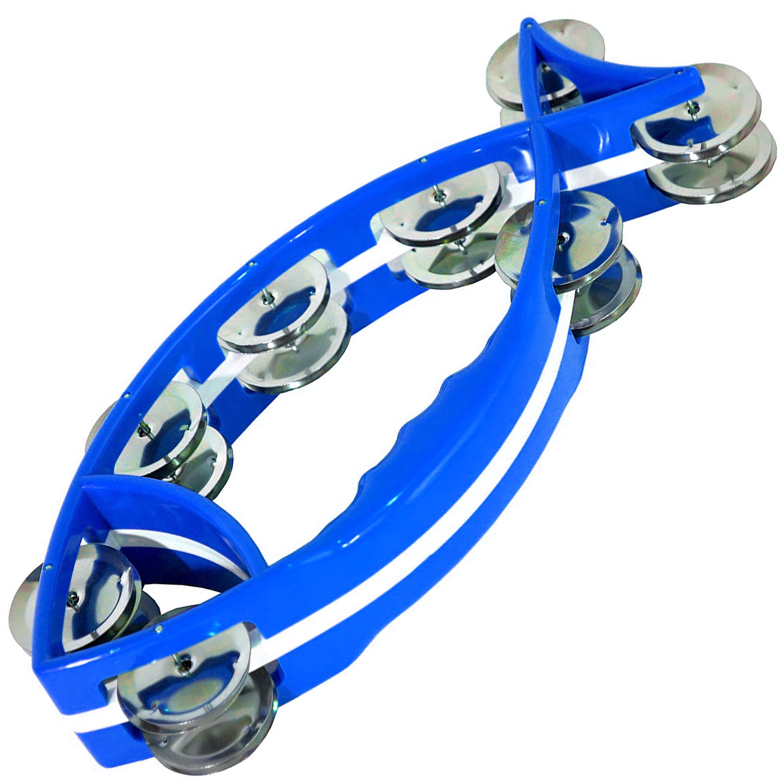 Pandeirola Meia Lua - Peixe Azul - Turbo