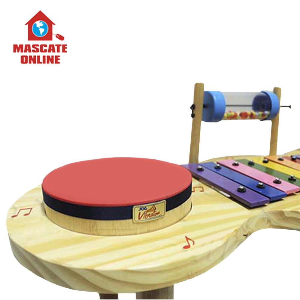 Pequena Percussão Baby Madeira Jog Vibratom P3696