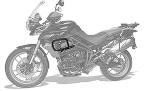 Protetor Carenagem Tiger 800 XC 2012/14