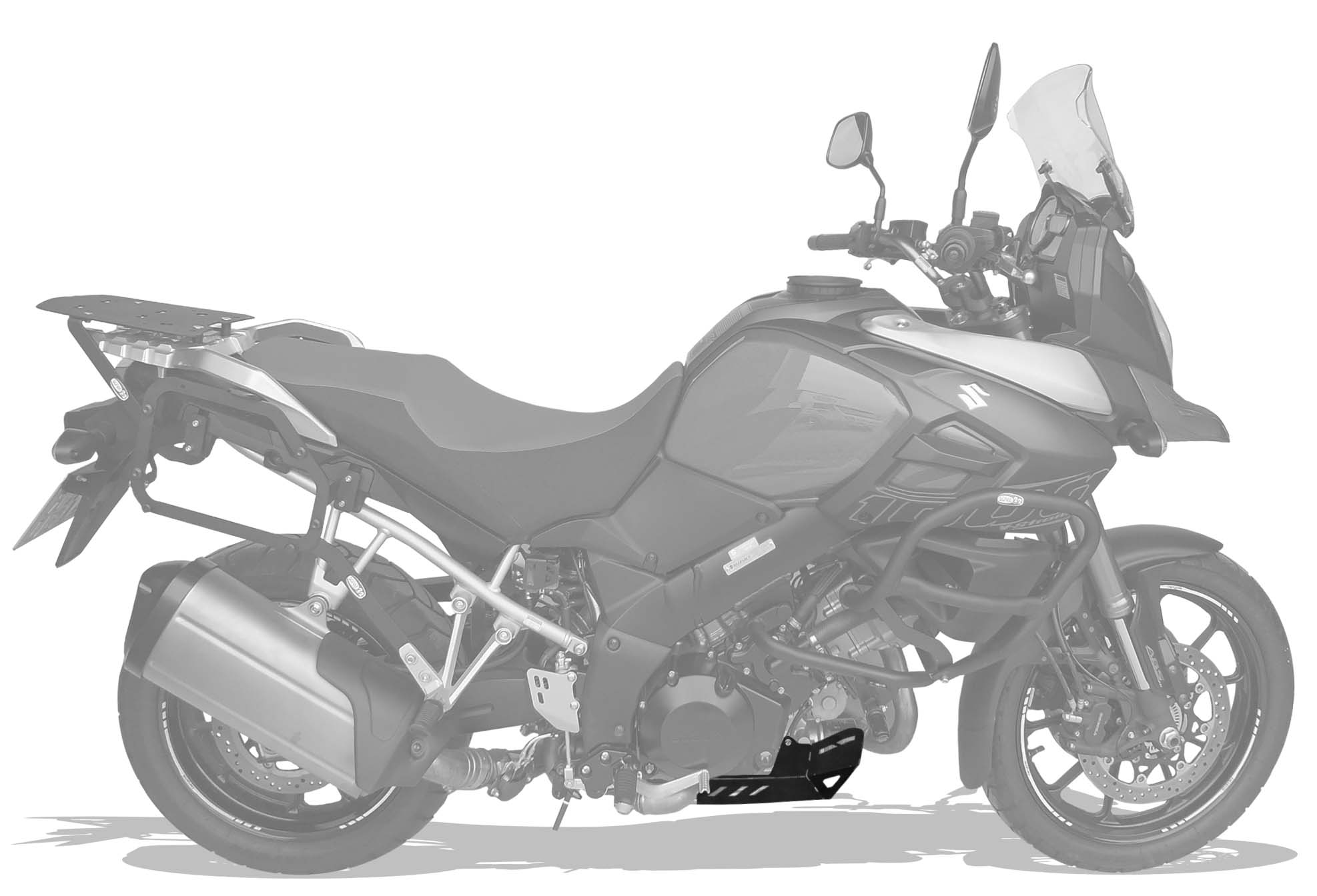 Protetor cárter Suzuki DL Vstrom 1000cc 2014+