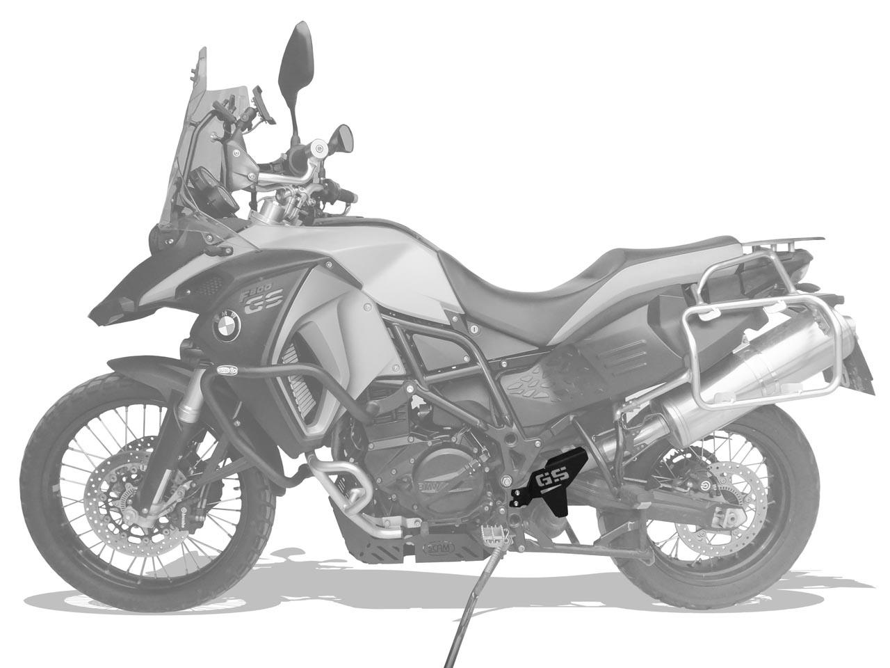 Protetor de Escapamento BMW F800 GS / ADVENTURE