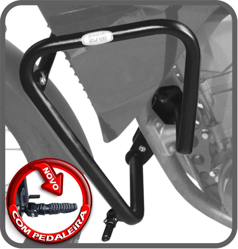 Protetor de motor e carenagem XT660R c/ Pedaleira