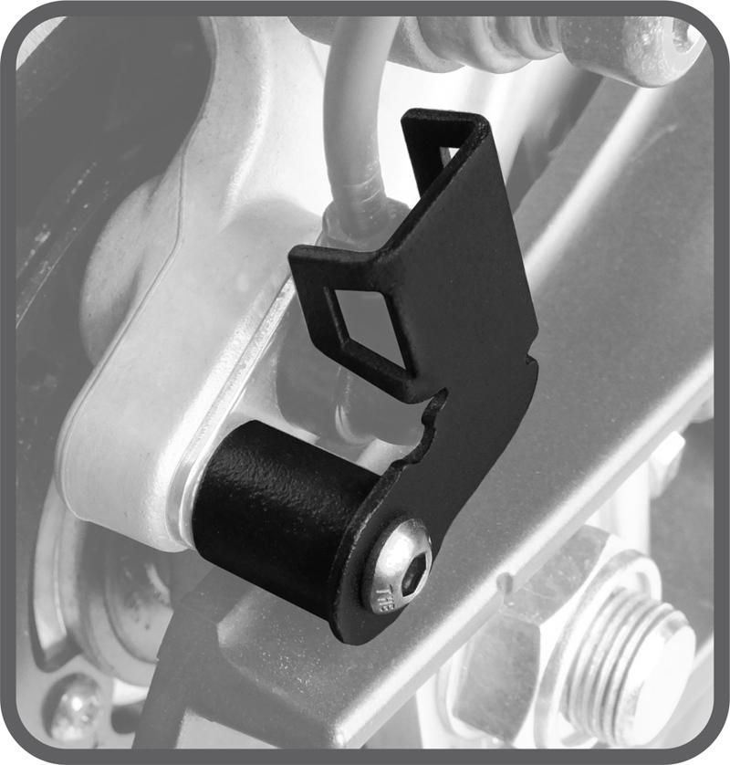 Protetor de Sensor Abs Yamaha MT09 Tracer - Scam