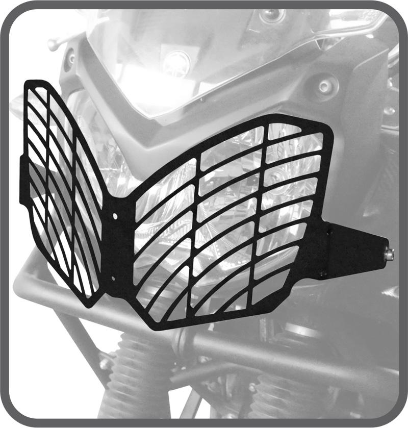 Protetor farol AÇO CARBONO Yamaha TÉNÉRÉ 250 Scam SPTO 284