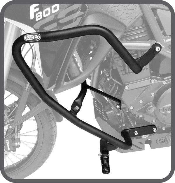 Protetor motor/carenagem c/ pedal BMW F800 GS Scam